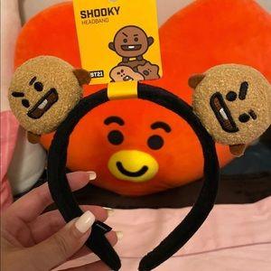 BT21 shooky official headband NWT